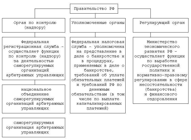 Общее руководство деятельностью института банкротства
